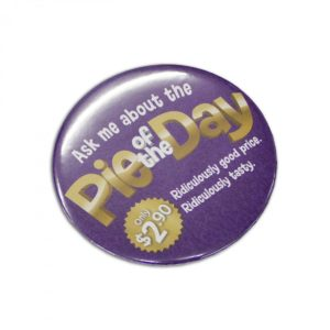 Button Badge Round – 75mm