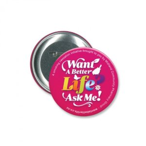 Button Badge Round – 90mm