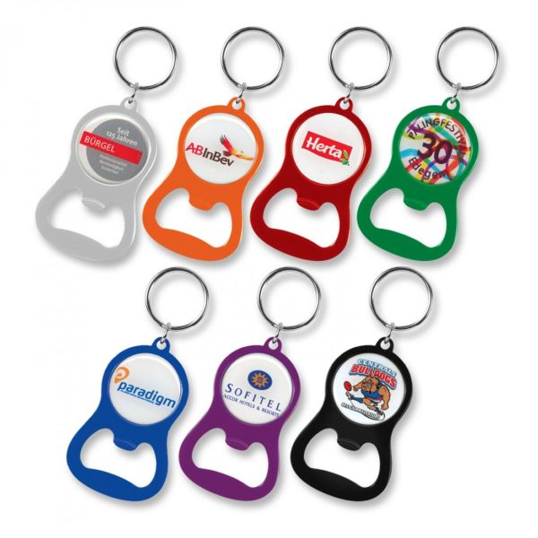 Chevron Bottle Opener Keyring