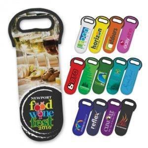 Neoprene Wine Cooler Bag – Full Colour