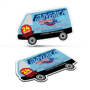 Fridge Magnet 90 x 55mm – Van Shape