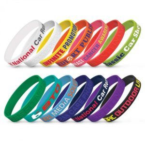 Silicone Wrist Band – Embossed
