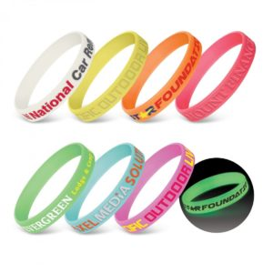 Silicone Wrist Band – Glow in the Dark