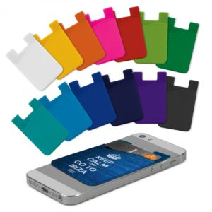 Silicone Phone Wallet – Full Colour
