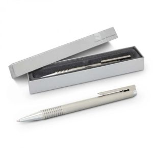 Lamy Logo Pen – Brushed Steel