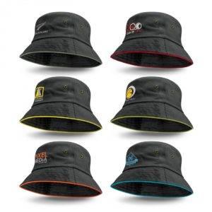 Bondi Bucket Hat – Coloured Sandwich Trim