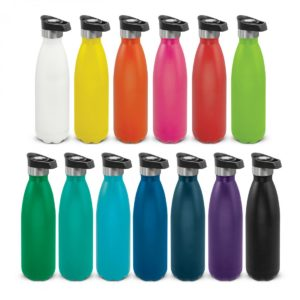 Mirage Powder Coated Vacuum Bottle – Push Button Lid
