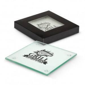 Venice Glass Coaster Set of 4 – Square